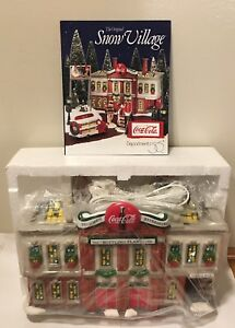 Dept. 56 Coca-Cola Bottling Plant Plus Delivery Truck