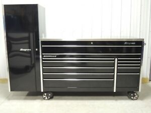 Snap On Black Krl1032 Tool Box Stainless Top And A Krl1012 Locker