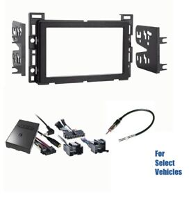 Double Din Car Stereo Dash Wire Kit Combo Steering Audio Onstar Bose For Some Gm