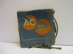 Vtg 37 60 Chevy Ac Speedometer Cable Casing Cc 17 1582863