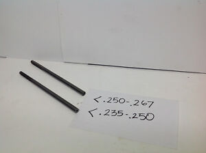 1 Lot Of 2pcs 1pc 235 250 1pc 250 267 solid Carbide Step Reamers 745 d 2