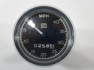 Vintage Stewart Warner Speedometer Odometer Bike cycle Custom