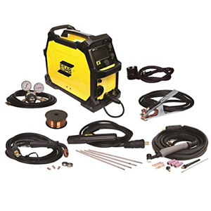 Esab Emp215ic 120 230 volt Dual Voltage Professional Grade Mig tig stick Welder