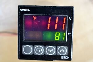 Good Used Omron Temperature Controller E5cn rmt 500