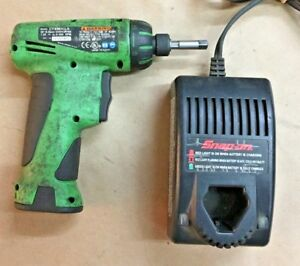 Snap On Cts561clg Cordless 1 4 Screwdriver 7 2v Battery And Charger