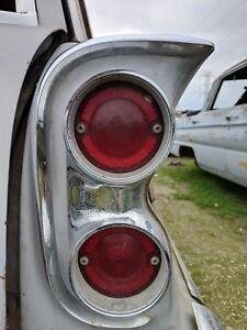 1961 1962 Oldsmobile F85 Cutlass Station Wagon Sw Right Tail Light Oem