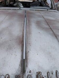 1962 Oldsmobile F85 Cutlass Station Wagon Sw Convertible Hood Spear Moulding Oem