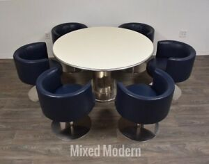 Harvey Probber Mid Century Modern Dining Table Chairs A Set