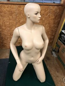 Female Mannequin Kneeling