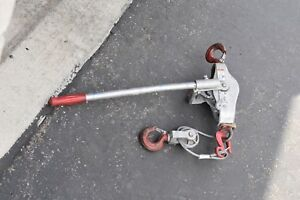 Lug all 3 000 Lb Capacity 15 Ft Lift Height Manual Lever Hoist
