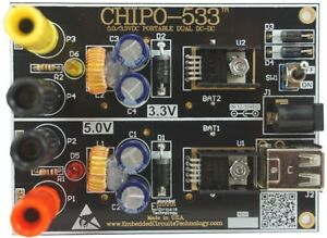 Portable Dual Dc dc 5 0v And 3 3vdc Power Supply Chipo 533