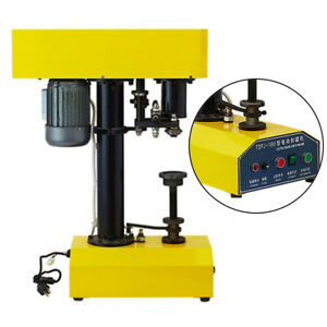 Semi Automatic Can Capping Machine Ideal Equipment For The Food Drinks And Tea