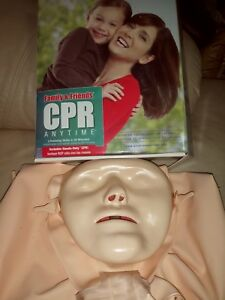 Family And Friends Cpr Anytime Training Kit W Mini Anne American Heart Assoc