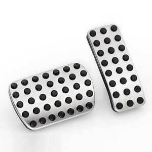 Mercedes Cls C257 Stainless Steel Pedal Covers Pads For Automatic Cars