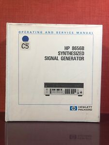 Hp 8656b Synthesized Signal Generator Operating Service Manual Volume 2 1570