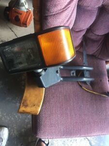 Truck Lite Economy Snow Plow Atl Lights Tl 80888 Left And Right W Brackets