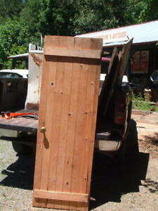 Antique 1800 S Home Shed Barn Door Architectural Salvage Reclaimed Primitive