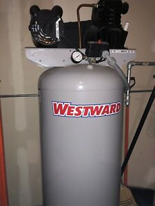 Westward Vertical Air Compressor Model 4me96 60 Gallon 3 2hp Never Used