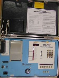 Liebert Model 3600a Power Line Disturbance Monitor for Parts Only