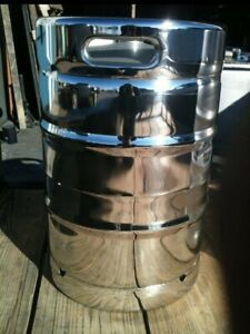 1 Mirror Finish Beer Keg 15 5 Gallon 1 2 Barrel Commercial Beer Keg Never Used