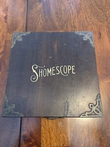 Vintage Antique Optimal Shomescope Portable Photo Postcard 3d Stereo View Viewer