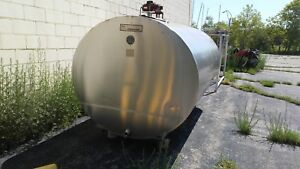 Stainless Steel Tank 1500 Gal Distillery Winery Cidery