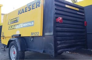 Kaeser M122 Towable 400 Cfm Air Compressor 5 115 Hours Deutz Diesel Engine