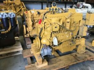 Cat 3406c Diesel Engine 460hp All Complete And Run Tested