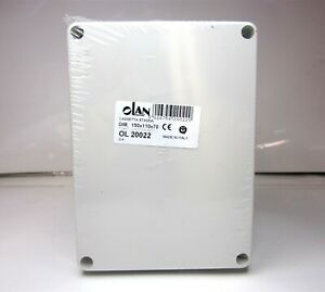 Olan ol20022 White Thermoplastic Junction Box Enclosure Ip 56 Water Proof