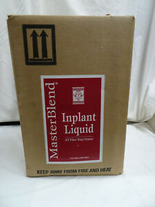 1 Case Of Masterblend Inplant Liquid All Fiber Rug Cleaner