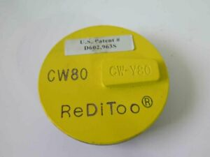 One Reditoo Cw80 Cw y80 Beveled Edge 3 Diamond Disc For Concrete Grinding