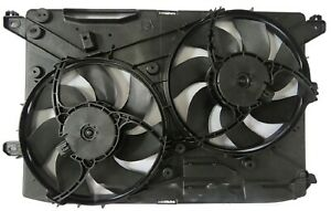 New Dual Radiator And Condenser Fan For 2017 2018 Ford Fusion