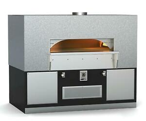 Wood Stone Hearth Pizza Oven Fire Deck 9660 Full Hood Less Than 16 Months Of Use