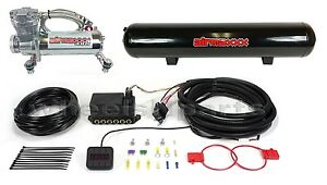 Air Lift Autopilot V2 3 8 Digital Air Bag Suspension Chrome Air Compressor Tank