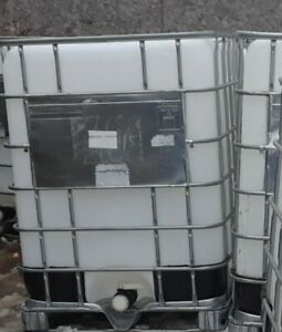 Ibc Tote Water Storage Farm Container Clean 330 Gal Metal Cage Local Pickup Only