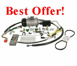 Air Conditioning Compressor Conversion Kit John Deere 4240 4430 4630 4440 4230