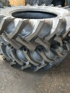 2 tires 15 5 38 12 Ply R1 Rear Farm Tractor no Tubes 15 5x38