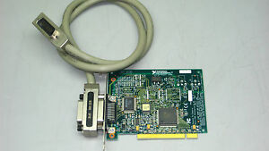 National Instruments Pci gpib 183617f 01 Interface Card W 3ft Cable tq113