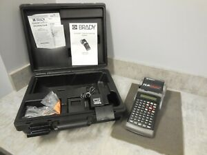 Brady Tls2200 Thermal Labeling System W charger case