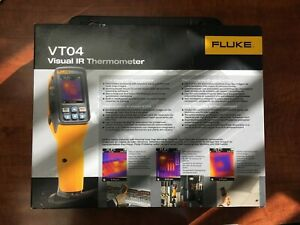 New Fluke Vt04 Visual Ir Infrared Thermometer W Hard Case Free Shipping