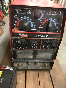 Lincoln Electric Ranger 9 Gas Welder generator For Repair