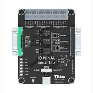 Tibbo Io Ninja Serial Tap Sniffer For Rs232 Rs485 And Ttl level Uart