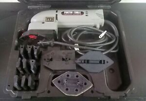NEW PORTER-CABLE Model# 9444 In-Line Profile Sander W Case and Attachments