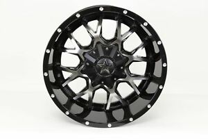 Blemished Single 20x10 Black Wheel Monster Energy 645mb 8x6 5 19
