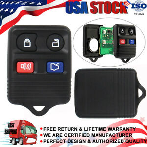 2 Replacement Keyless Entry Remote Key Fob Clicker Transmitter Control For Fords