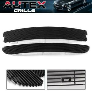 Autex Black Billet Grille Grill Combo For 1999 2003 Ford F 150 Lightning