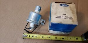 Nos 65 66 67 68 Ford Mustang Windshield Washer Pump C5az 17664 a Falcon Galaxie