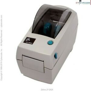 Zebra Lp 2824 Direct Thermal Printer lp2824