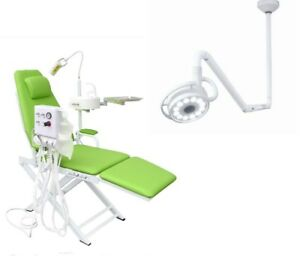 Ceiling mounted Dental Medical Led Shadowless Lamp 800mm Dental Chair Us Stock