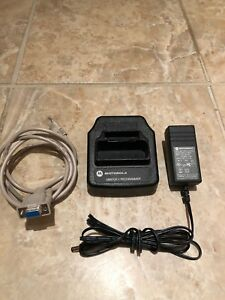 Motorola Minitor V Pager Programmer Rln6360a W Cable